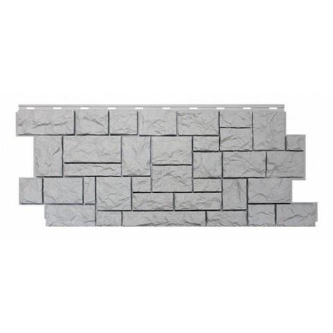 Фасадные панели (Цокольный Сайдинг) Nordside (Нордсайд) Северный Камень Белый
