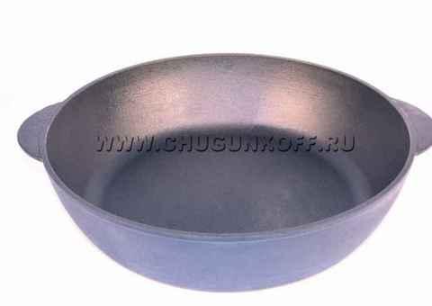 Сковорода-сотейник чугунная 400х100, ЭК40100, ЭКОЛИТ