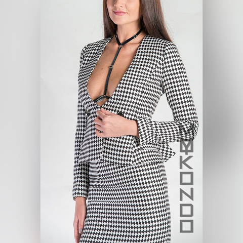 MyMokondo Петра Bondage Атласная (one size, Черный)