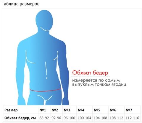 Бандаж паховый грыжевой суспензорий Крейт Б-460