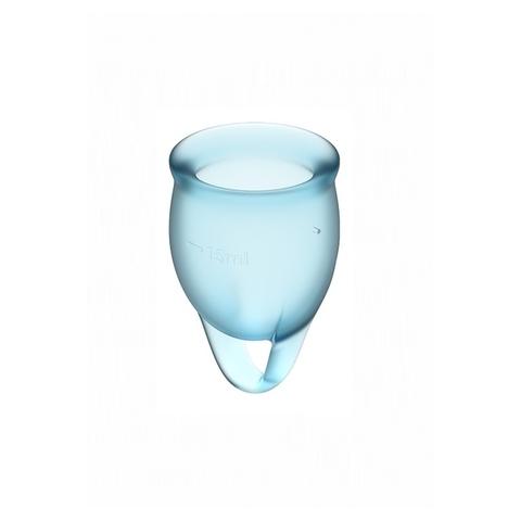 Satisfyer Feel confident Набор менструальных чаш Голубой