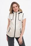 Куртка для беременных 04757 кремовый