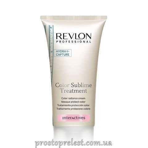 Revlon Professional Interactives Color Sublime Treatment - Крем-средство для сохранения окрашенных и блондированных волос