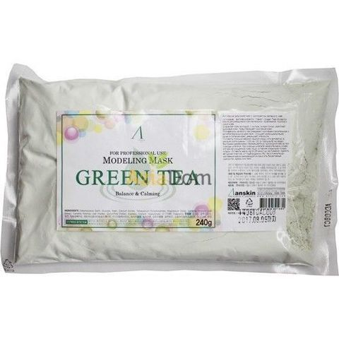 Альгинатная маска с зеленым чаем Anskin Grean Tea Modeling Mask