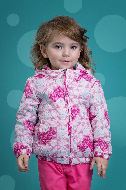 Куртка розовая для девочки 4078-2