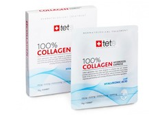 Маска гидроколлагеновая моментального действия Collagene Hydrogel Mask 100%, TETe, 1 саше