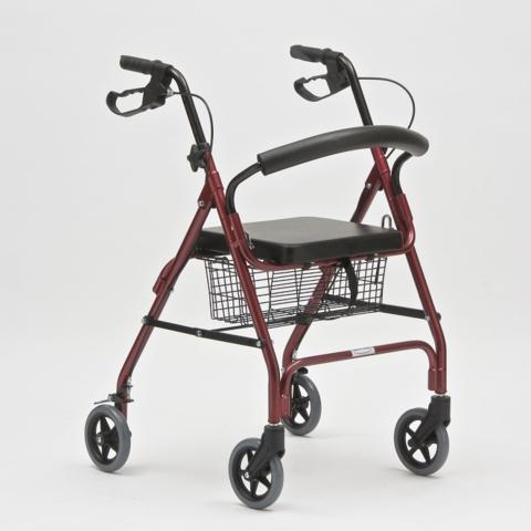 Ходунки - роллаторы на колесиках с сиденьем FS966LH