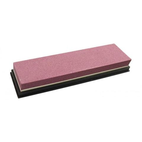 Искусственный двухсторонний водный камень для заточки изделий из стали, арт.T008