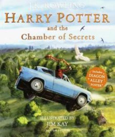 Harry Potter & the Chamber of Secrets - illustrated ed. (PB)