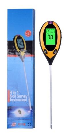 Цифровой измеритель кислотности (анализатор) почвы 4 в 1