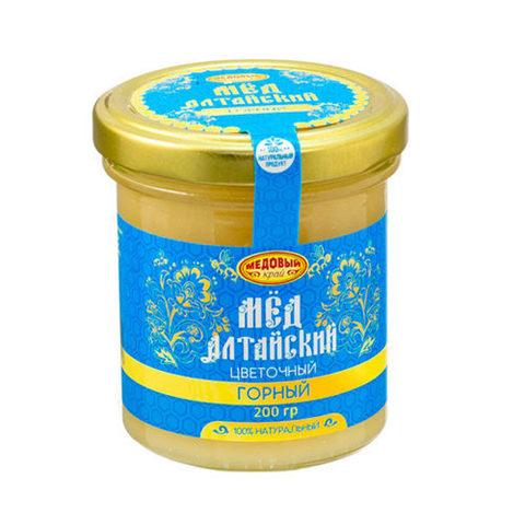 Горный алтайский мёд 200 г