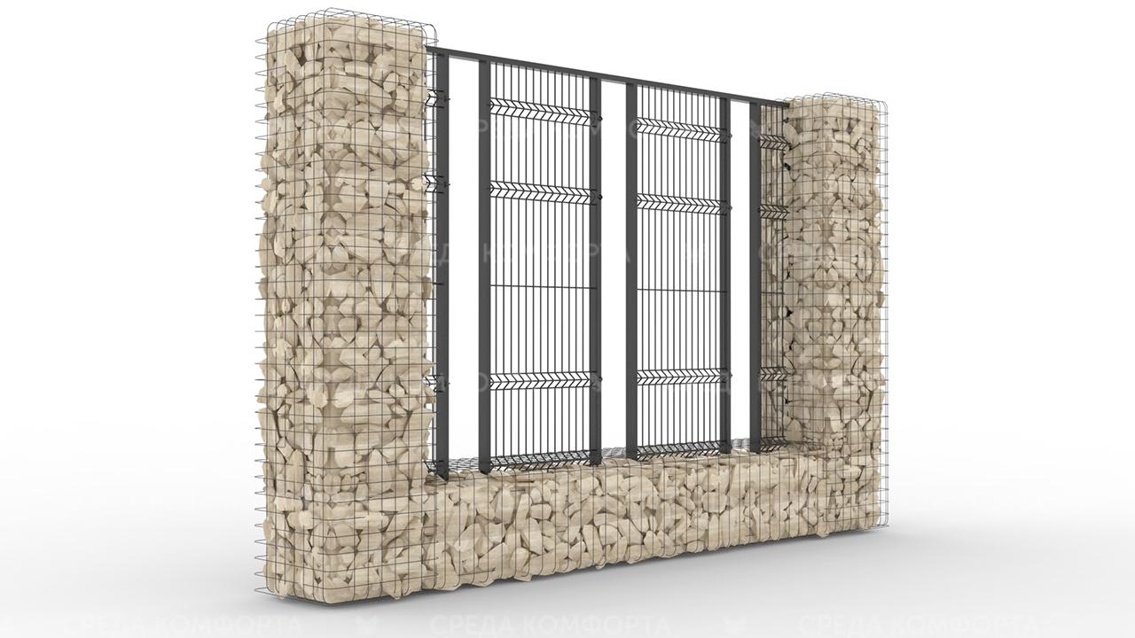 Забор 3Д ZBR0073
