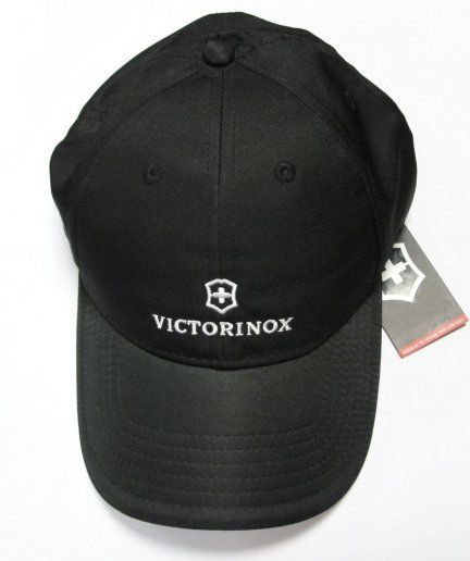 Бейсболка Victorinox чёрная (9.6085.32)