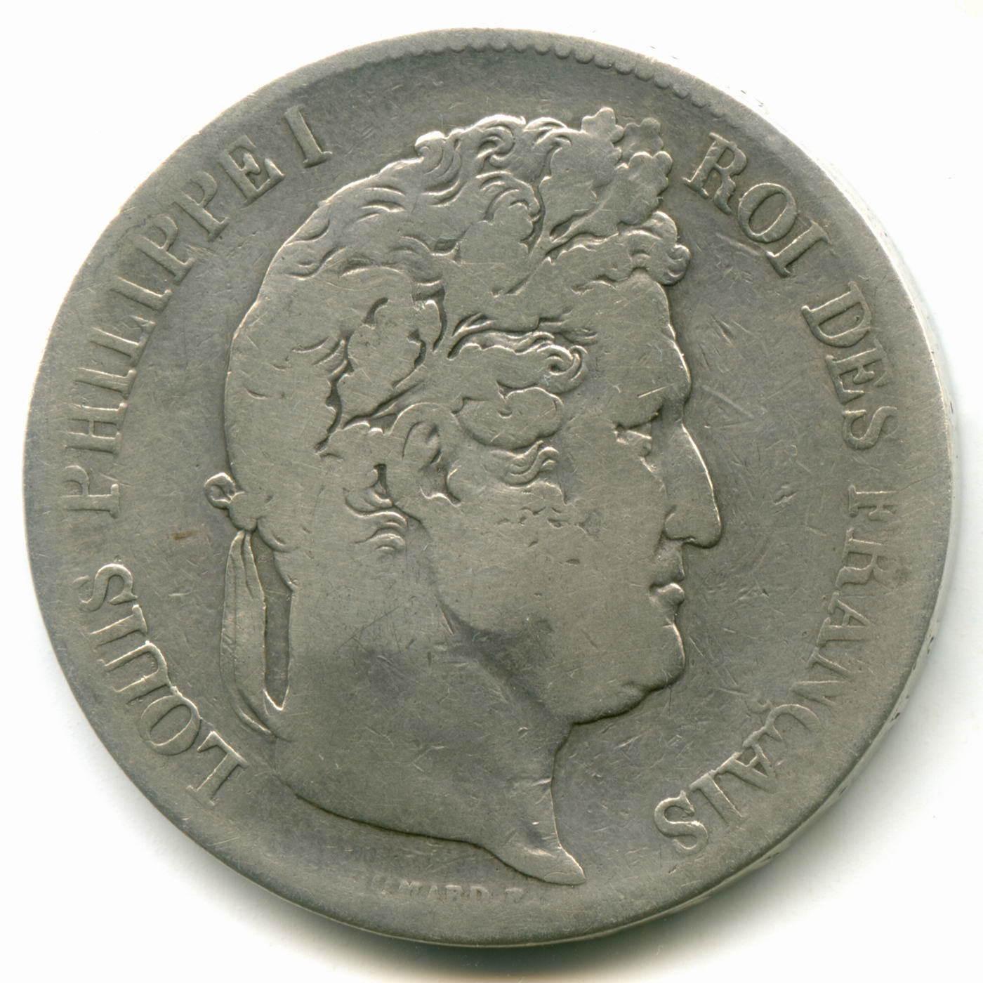 5 франков 1836. Франция (F)