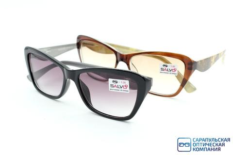 Очки готовые для зрения затемненные SALVO JMRS50007