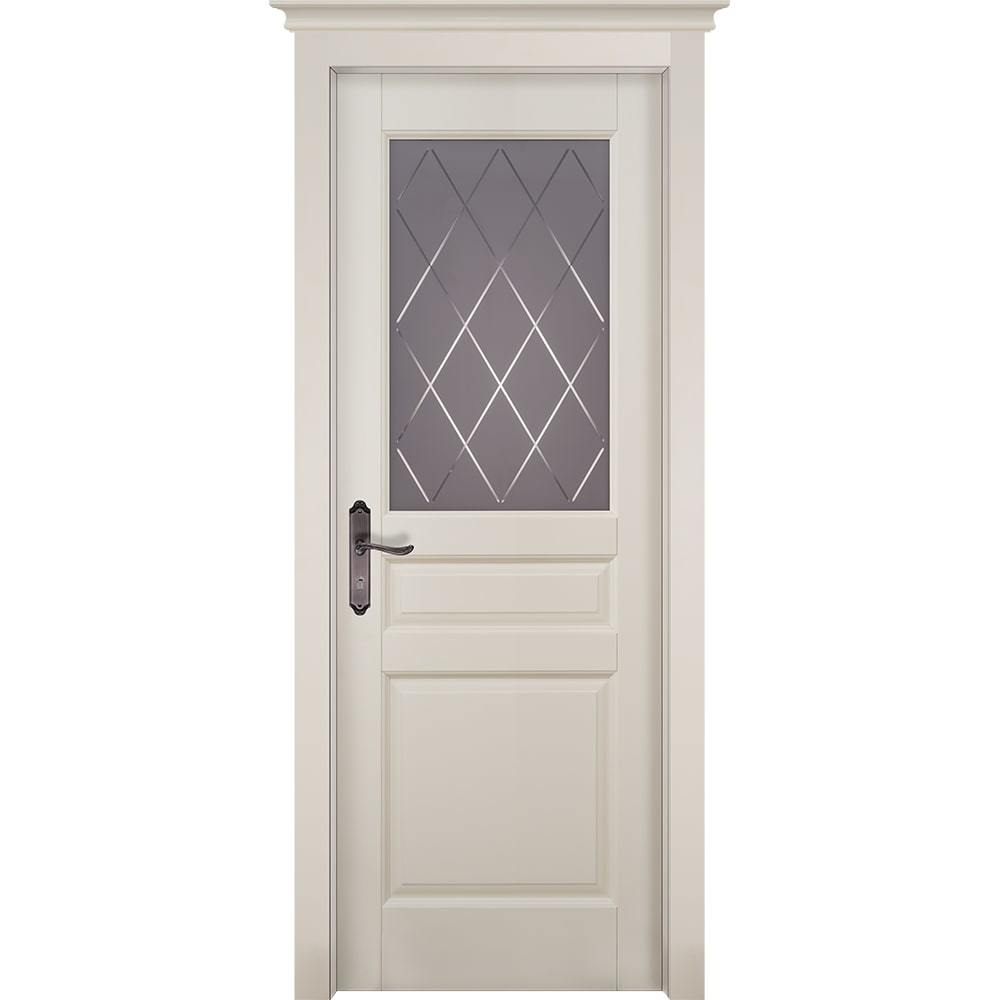 Двери в стиле неоклассика Межкомнатная дверь массив ольхи ОКА Валенсия эмаль слоновая кость остекленная venecia-slon-kost-po-dvertsov-min.jpg