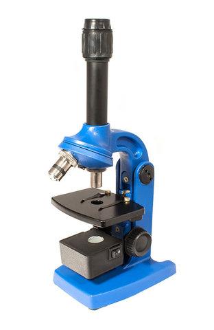 Микроскоп Юннат 2П-1 с подсветкой Синий
