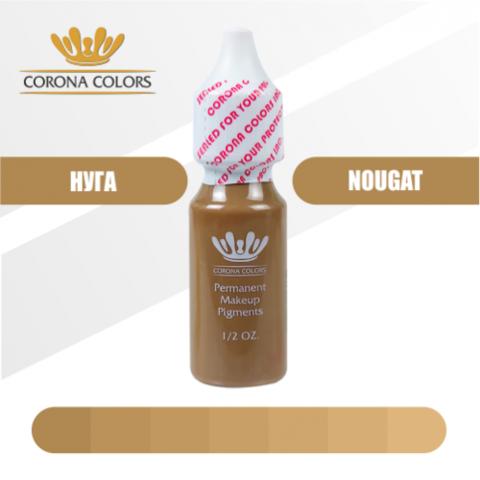 Пигмент Corona Colors Нуга (Nougat) 15 мл
