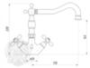 Смеситель для раковины Migliore Princeton Plus ML.PRP-8034 схема
