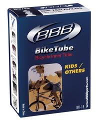 """Велокамера 18"""" с велониппелем BBB BTI-18 1,75х2,125 FV"""