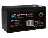 Аккумулятор ВОСТОК PRO СК 1207 ( 12V 7,2Ah / 12В 7,2Ач ) - фотография