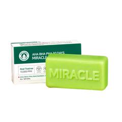 Очищающее мыло SOME BY MI AHA BHA PHA 30 Days Miracle Cleansing Bar 106g