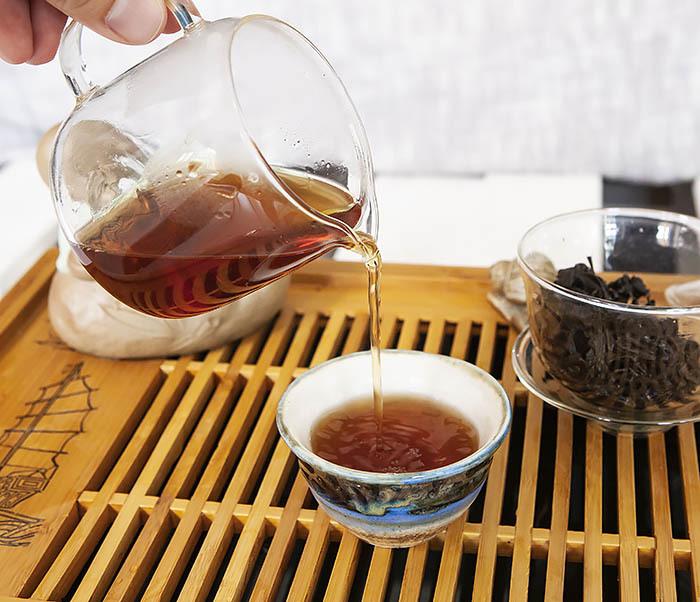 TEA-CH115 Китайский чай «Большой Красный Халат» (Да Хун Пао, сильная обжарка, 50 гр) фото 14