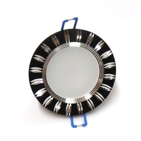 Светодиодный Led светильник встраиваемый Feron AL 779 Черный (круглый) 5W 4000K