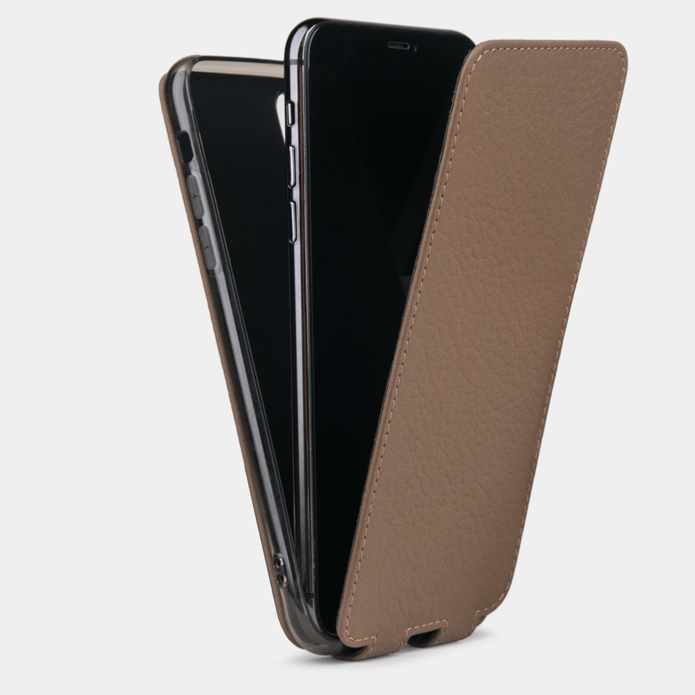 Case for iPhone 11 Pro - brown coffee