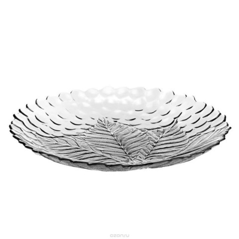 Тарелка сервировочная Pasabahce Султана стеклянная 320 мм (артикул производителя 10287SLB)