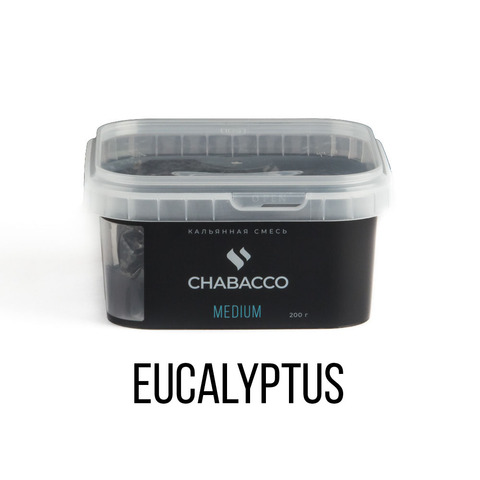 Чайная смесь Chabacco Medium 200 г - Eucalyptus (Эвкалипт)