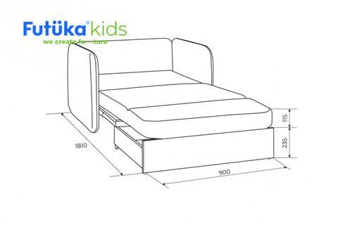 Кресло-кровать Unix Шиншилла