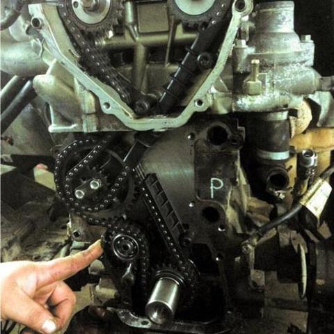 Замена ГРМ: замена ремня, цепи, роликов, натяжителя