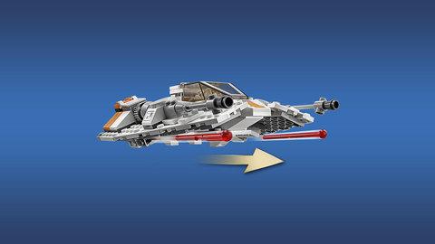 LEGO Star Wars: Нападение на Хот 75098 — Assault on Hoth — Лего Звездные войны