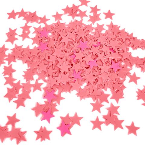 Звезды Розовые 0,8 см