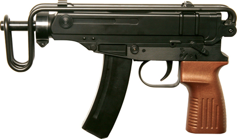 Пистолет-пулемёт страйкбольный пружинный Scorpion (M-37A)