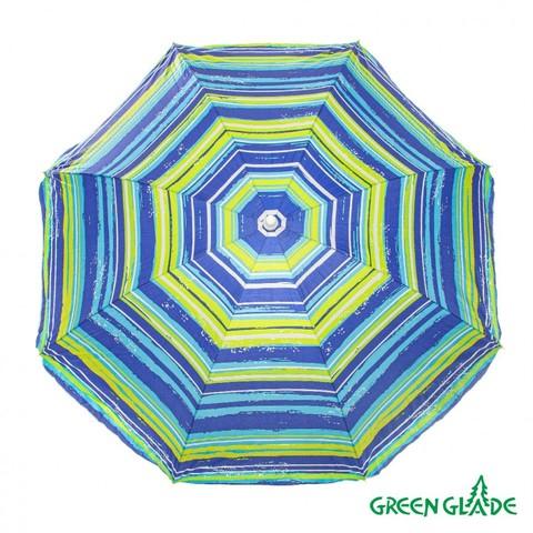 Зонт пляжный от солнца Green Glade А1254 180 см