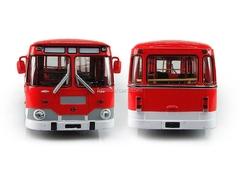 LIAZ-677M red-white Soviet Bus (SOVA) 1:43