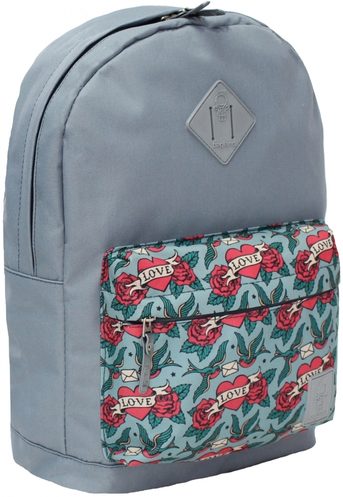 Женские рюкзаки Рюкзак Bagland Молодежный W/R 17 л. 316 сірий 63 (00533662) 7a4797b89a94056b3b6a5c52e67465f9.JPG