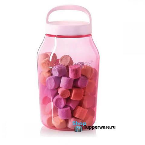 Чудо-банка 3л в розовом цвете