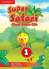 Super Safari 1 Class Audio CDs (2) (Лицензия)