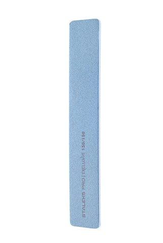 Пилка широкая прямая минеральная для ногтей EXCLUSIVE 150/150 грит