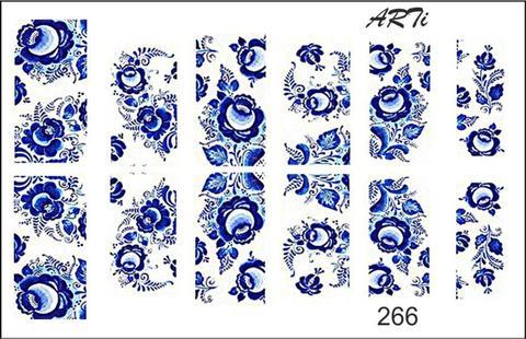 Слайдер наклейки Photonailart №266 купить за 80руб