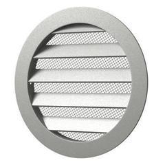 Антивандальная алюминиевая наружная решетка Эра 40 РКМ
