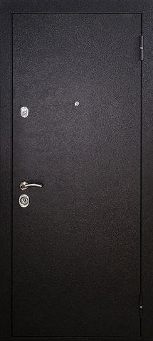 Дверь входная Стальная линия Рио стальная, дуб беленый, 2 замка
