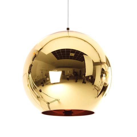 Подвесной светильник копия Copper Shade by Tom Dixon (золотой)