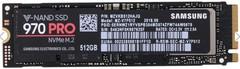 SSD накопитель Samsung 970 PRO MZ-V7P512BW 512GB PCI-E/M.2 2280