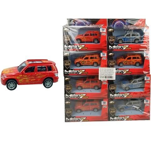 Набор машинок (в ассортименте) Motors 7 DIE CAST METAL Внедорожники № 3, 1кор*30бл*8шт