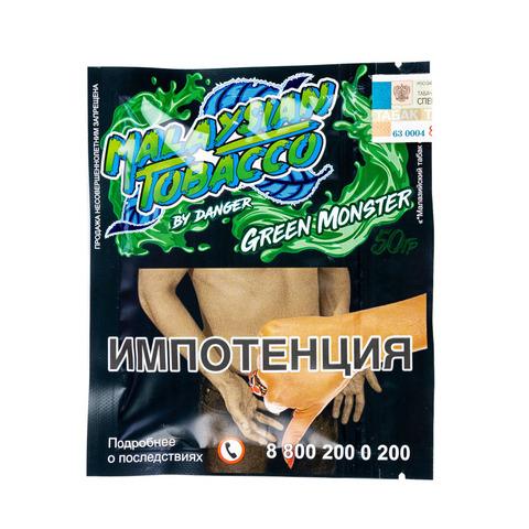 Табак Malaysian Tobacco 50 г Green Monster (Арбуз-Гуава)