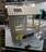 Кровать-домик АМИ-2 (крыша двускатная) правая 1700-700 /1808*1835*871/